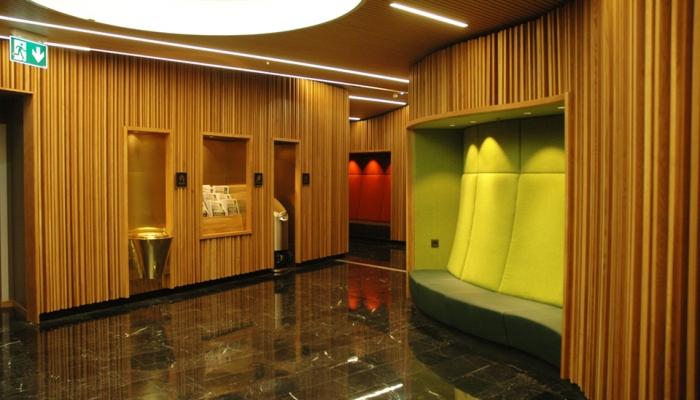 Mall wc